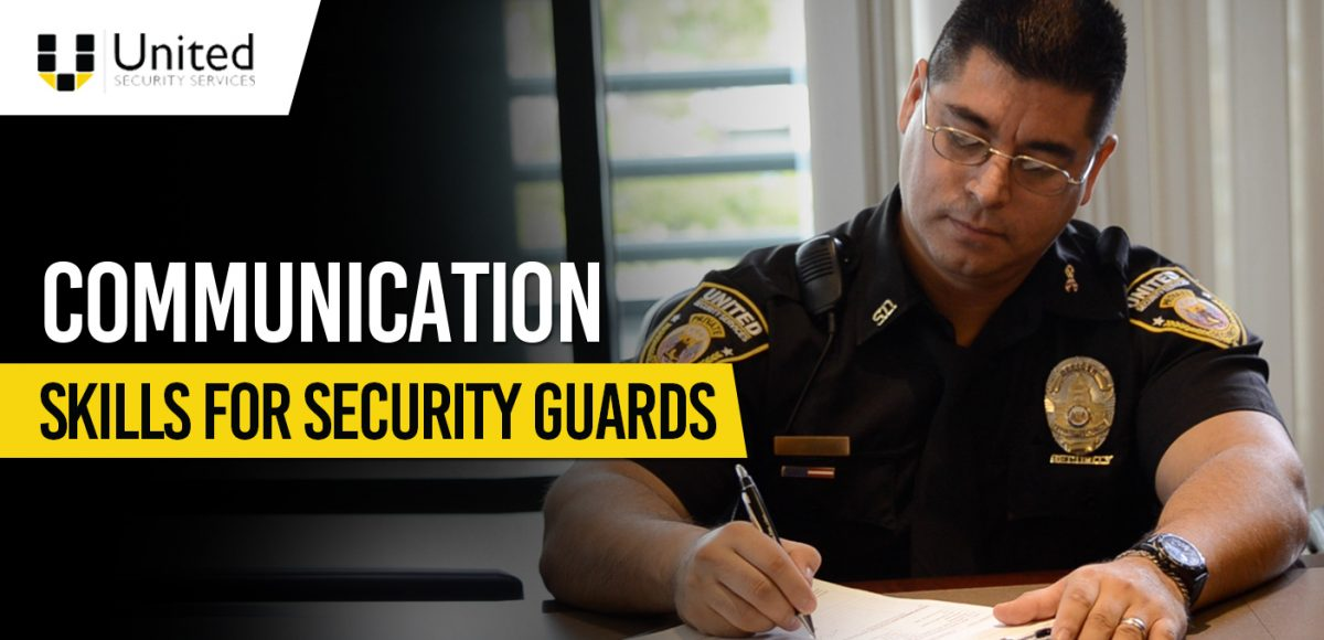 Communication Skills For Security Guards 1200x580